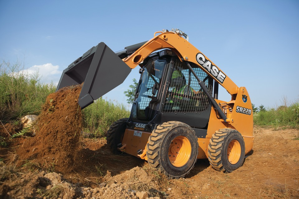 bobcat style skid steer by case earth moving
